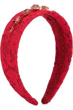 Dolce & Gabbana Stirnband mit Kristallen