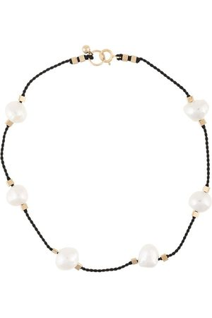 Petite Grand Damen Halsketten - Fußkette mit Perlen