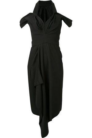 MATICEVSKI Damen Freizeitkleider - Drapiertes Kleid im asymmetrischen Look