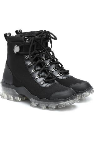 Moncler Ankle Boots Helis mit Leder