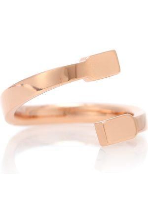Repossi Damen Ringe - Ring Serti Sur Vide aus 18kt Rosé