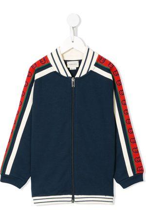 Gucci Sweatshirtjacke mit Kontrasteinsätzen