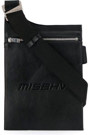MISBHV Schultertasche mit eingeprägtem Logo