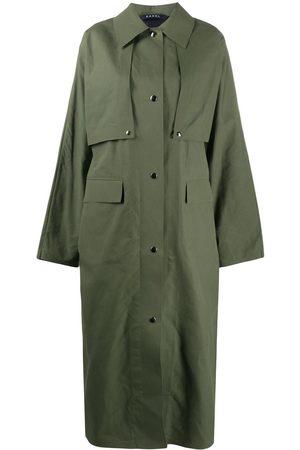 Kassl Editions Damen Trenchcoats - Trenchcoat im Oversized-Look