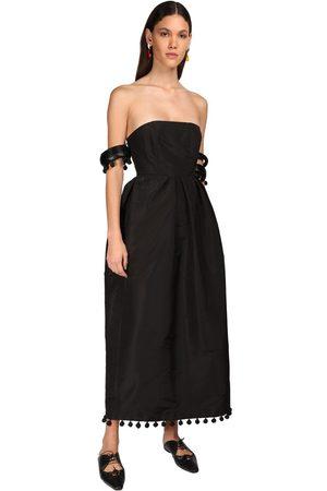 Rosie Assoulin Silk Faille Midi Dress