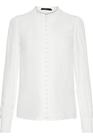 Vero Moda Japanischer Hemd Damen White
