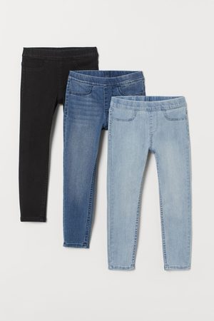 H&M 3er-Pack Denimleggings