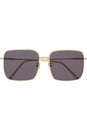 Retrosuperfuture Eckige Oversized-Sonnenbrille