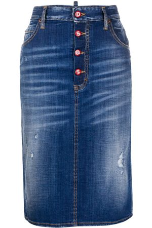 Dsquared2 Jeansrock im Distressed-Look
