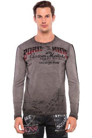Cipo & Baxx Sweatshirt »Ride Or Die« im Antique Look