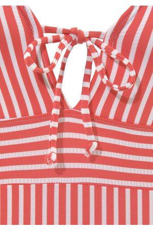 s.Oliver Badeanzug, aus Seersucker-Qualität