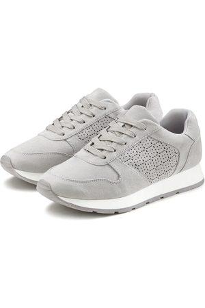 Lascana Damen Sneakers - Sneaker mit filigranen Cut-Outs