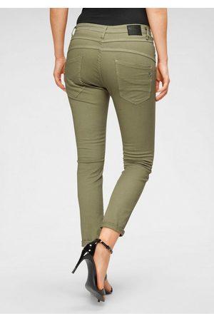 5 Pocket Jeans »P78A« lässige Boyfriend Jeans in leichter Crinkle Optik und krempelbarem Bein