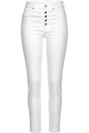 Buffalo High-waist-Jeans mit modischer Knopfleiste