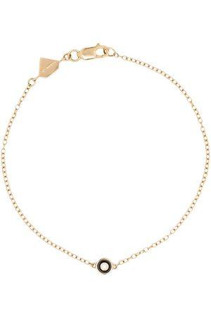 ALISON LOU 14kt Gelbgoldarmband mit Diamanten