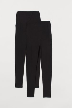 H&M MAMA 2er-Pack Jerseyleggings