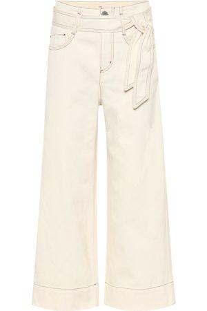 Loro Piana High-Rise Cropped Jeans