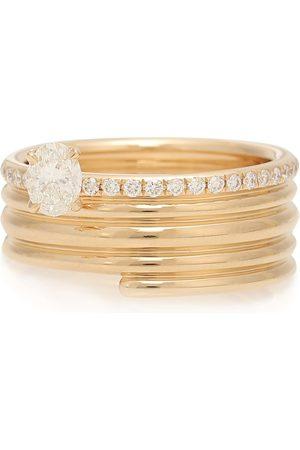 Repossi Ring Blast aus 18kt Rosé mit Diamanten