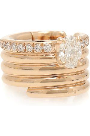 Repossi Ear Cuff Blast aus 18kt Rosé mit Diamanten