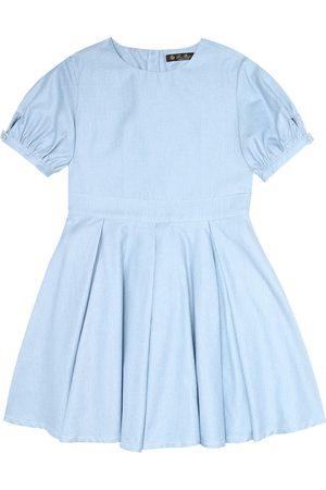 Loro Piana Kleid Janette aus Chambray