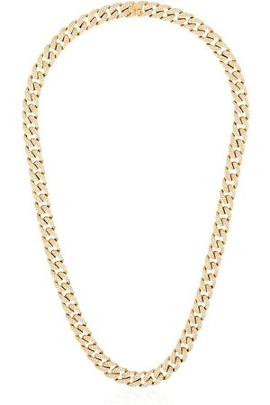 Shay 18kt Goldhalskette mit Diamanten