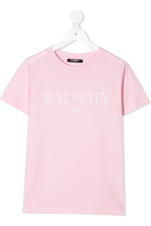 Balmain T-Shirt mit Logo-Print