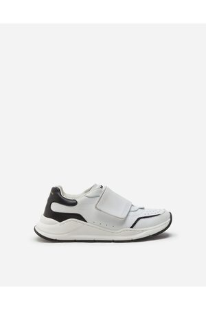 Dolce & Gabbana Daymaster sneakers with riptape closure in nappa calfskin