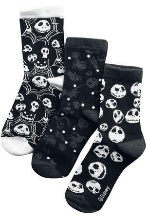 The Nightmare Before Christmas Skulls And Cobwebs Socken multicolor