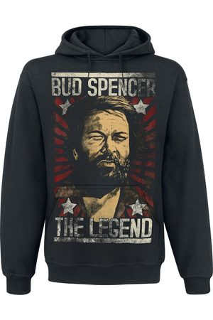 Bud Spencer Herren Sweatshirts - The Legend Kapuzenpullover
