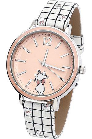 Disney Damen Uhren - Marie Armbanduhren weiß/