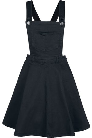 hell bunny Damen Midikleider - Dakota Pinafore Dress Mittellanges Kleid