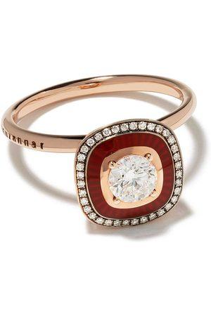 SELIM MOUZANNAR 18kt Rotgoldring mit Diamanten