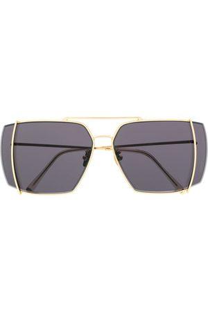 Retrosuperfuture Sonnenbrille mit Logo-Gravur