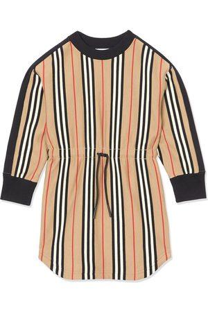 Burberry TEEN Pulloverkleid mit Streifendetails