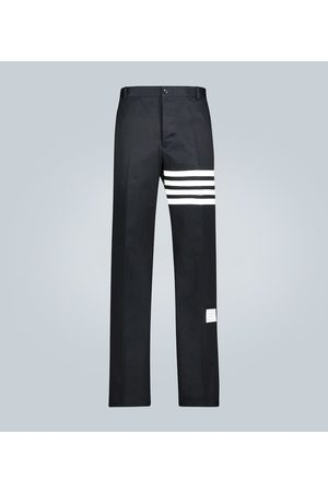 Thom Browne Damen Hosen & Jeans - Relaxed-Fit Hose aus Baumwolltwill