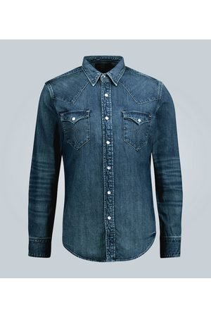 RRL Slim-Fit Jeanshemd