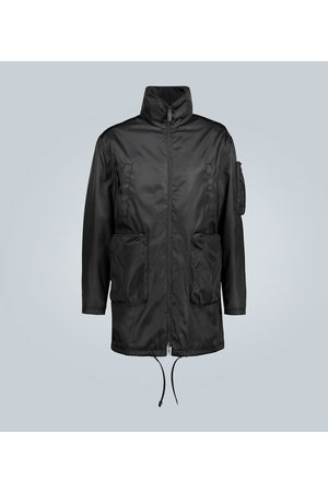 Prada Tech-Mantel mit großen Taschen