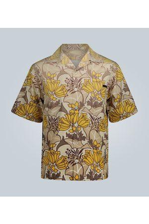 Prada Kurzarmhemd mit floralem Print