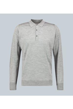 JOHN SMEDLEY Cotswold Langarm-Poloshirt