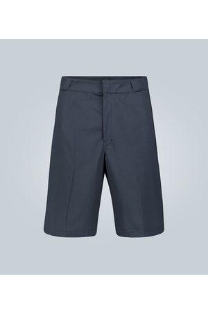 Prada Shorts aus Baumwollgabardine