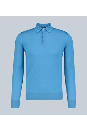 Loro Piana Langarm-Poloshirt M1 aus Wolle