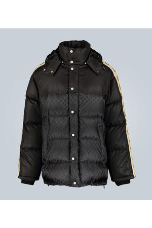 Gucci Wattierter Mantel aus Jacquardnylon