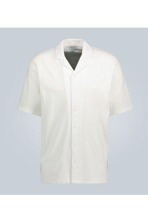 Sunspel Kurzarmhemd aus Frottee