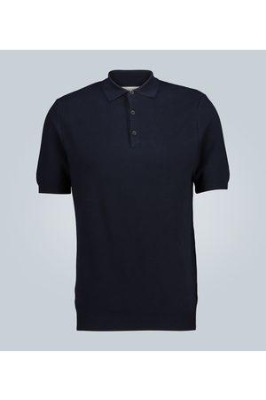 Sunspel Strick-Poloshirt aus Baumwolle