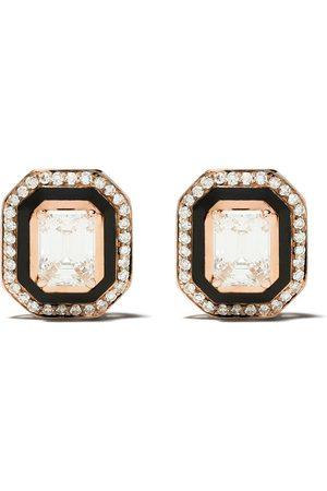 SELIM MOUZANNAR 18kt Rotgoldohrringe mit Diamanten
