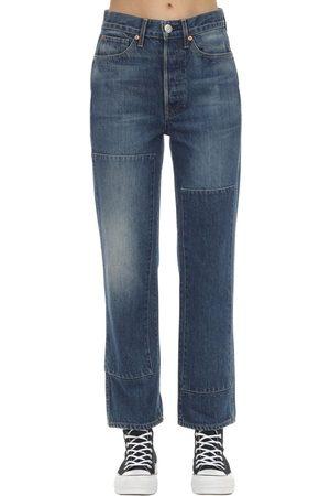 3x1 Claudia Denim Straight Jeans