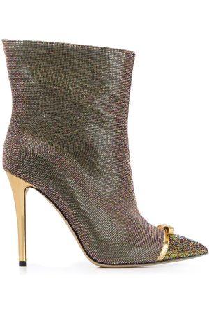 MARCO DE VINCENZO Damen Stiefeletten - Stiefel mit Nieten