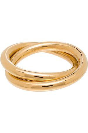 LOREN STEWART Zwei vergoldete Ringe