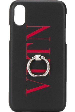 VALENTINO IPhone XS Max-Hülle mit VLTN-Print