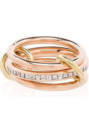 SPINELLI KILCOLLIN 18kt 'Rene' Goldring mit Diamanten